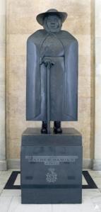 Damien Statue